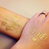Татуировка Bride розово злато