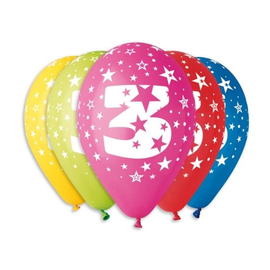Снимка на Балон Цифра 3