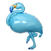 Фолиев Балон Фламинго Син