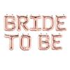 Комплект Балони Bride to Be Розово Злато 40 см