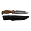 Ловен Нож от Масивна Стомана Охотник с Гравюра