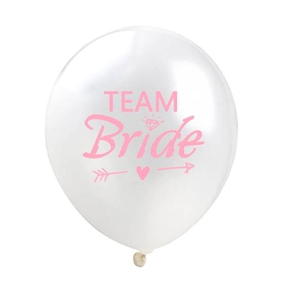 Балон Team Bride бял