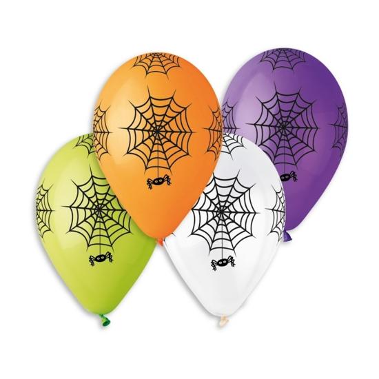 Балони за Halloween Паяжина Микс 30 см