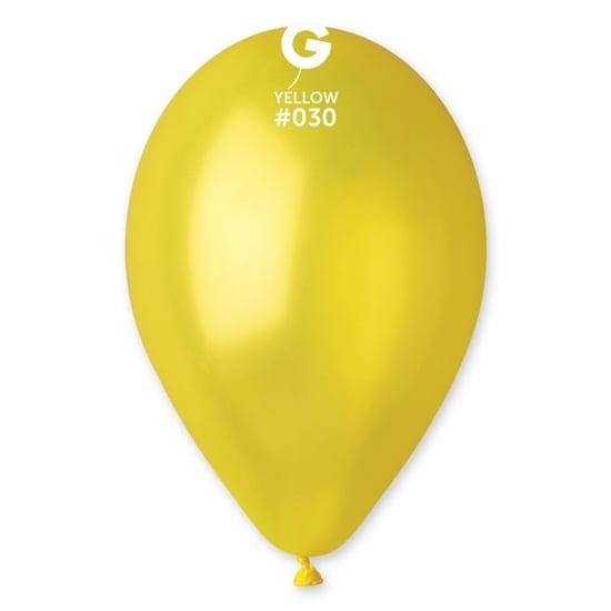 Балон 030 Жълт Металик 26 см