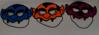 Детска Маска за Хелоуин Дракула Различни Цветове