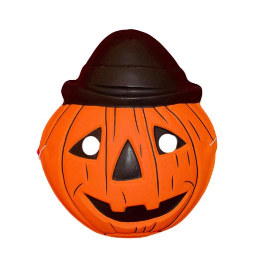 Детска Маска за Хелоуин Тиква