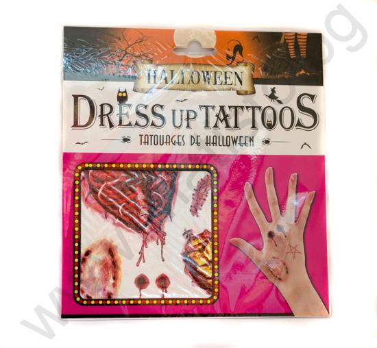 Хелоуин Татуировка Органи
