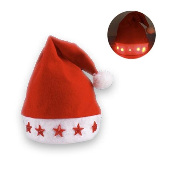 Светеща Коледна Шапка
