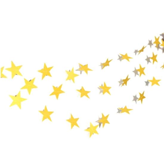 Висулки за Балони Звезди Златни 2 м