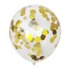 Балон Със Златни Конфети 30 см