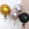 foliev-balon-sfera-rozovo-zlato