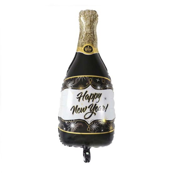 foliev-balon-happy-new-year-butilka