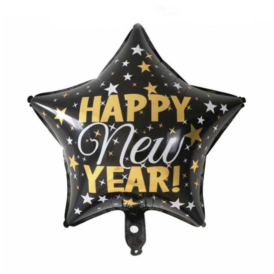 foliev-balon-zvezda-cheren-happy-new-year