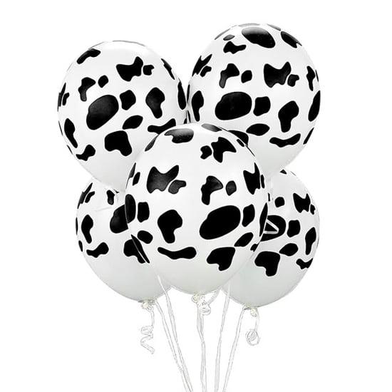 Снимка на Балони Животински Принт Крава 30 см 5 броя
