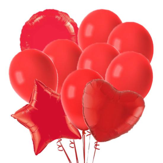 komplekt-baloni-cherveno
