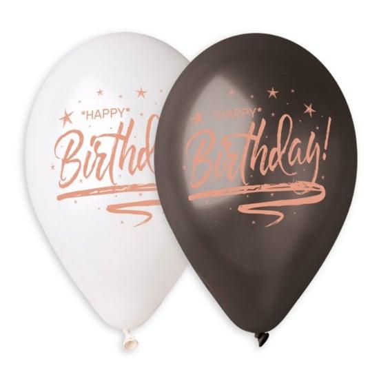 baloni-happy-birthday-rozovo-zlato