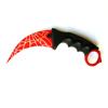 Снимка на Нож Карамбит CS: GO X-14 Red Web   19см.