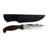 Снимка на Ловен Нож Охотник Волк с Текстилна Кания | 26см.
