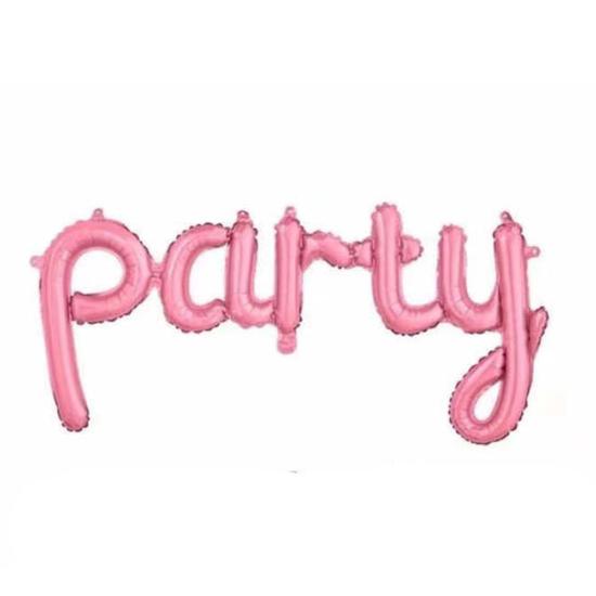 balon-nadpis-party-rozov