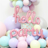 Снимка на Балон Надпис Party Розов 75см.