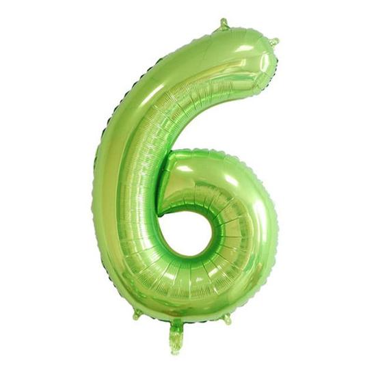 balon-cifra-6-zelen-100