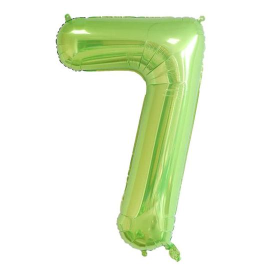 balon-cifra-7-zelen-100