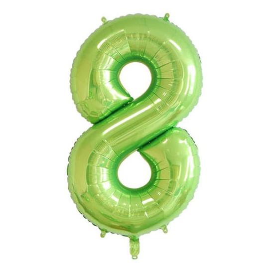 balon-cifra-8-zelen-100