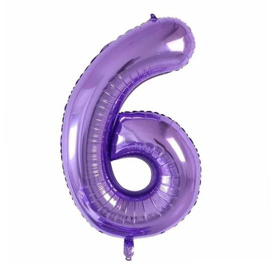 foliev-balon-cifra-6-lilav