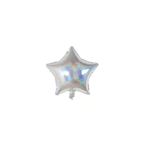 foliev-balon-zvezda-srebist-hologramen-mini