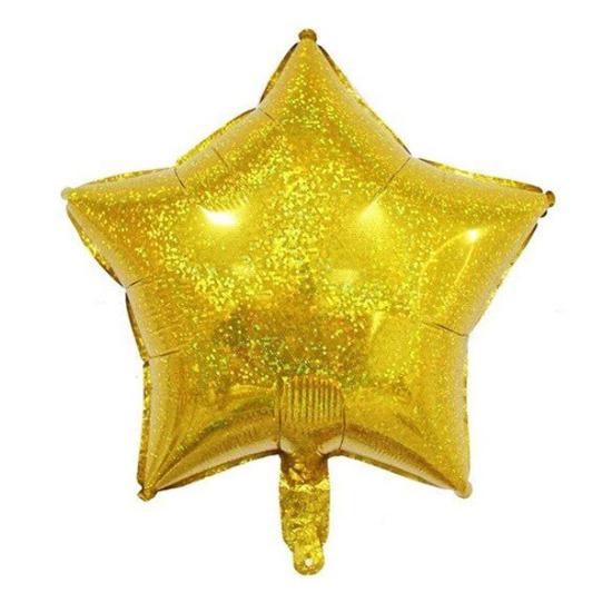 foliev-balon-zvezda-zlatist-hologramen