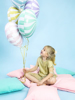 Снимка на Фолиев балон Близалка макарон лилав 45см