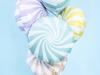 Снимка на Фолиев балон Близалка макарон розов 45см