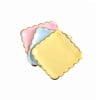 Снимка на Парти чинийки Сини квадратни 18см 10 броя