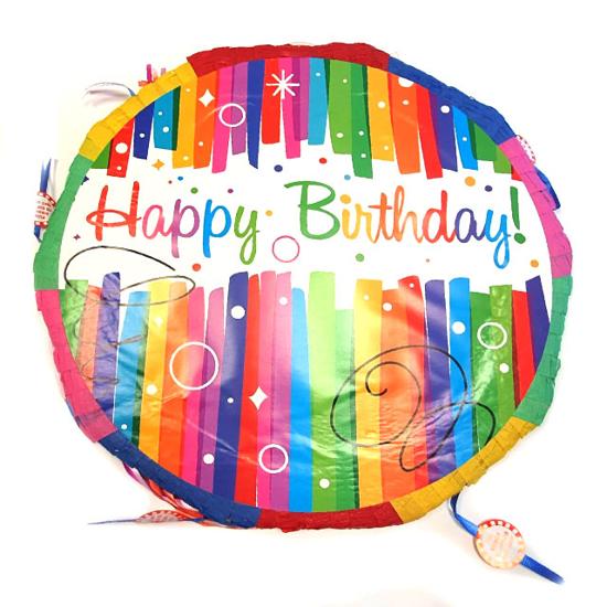 Снимка на Пинята Happy Birthday 45см