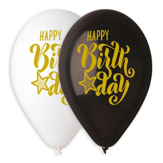 baloni-happy-birthday-zlaten-pechat