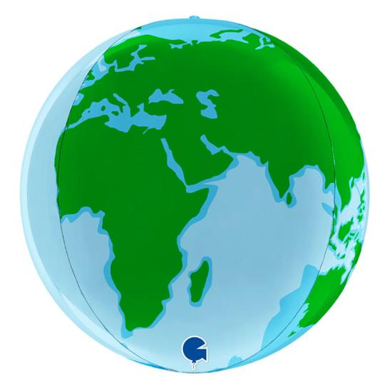 Снимка на Фолиев Балон Планетата Земя 38см.