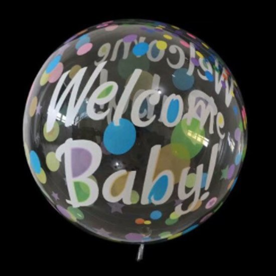 bubble-balon-welcome-baby