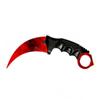 Снимка на Тренировъчен Нож Карамбит CS: GO Z-KA33X | 19см.