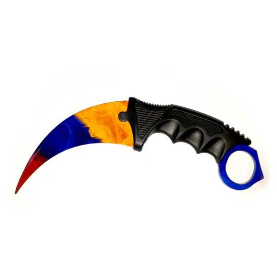 Снимка на Тренировъчен Нож Карамбит CS: GO Z-KA37X | 19см.