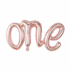 foliev-balon-nadpis-one-rozovo-zlato