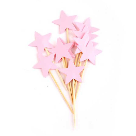 parti-klechki-rozovi-zvezdi