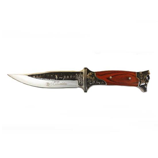Снимка на Ловен нож KB3188 с кания   27см.