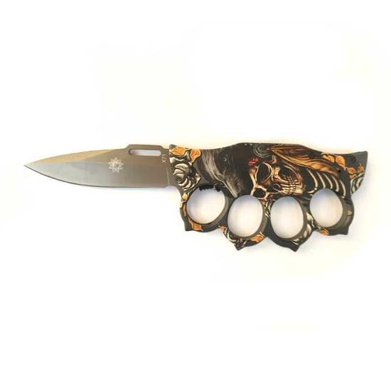Снимка на Сгъваем полуавтоматичен нож бокс X71 | 20см.