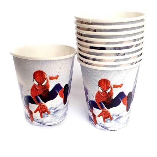 """Снимка на Парти чашки """"Спайдърмен"""" 10 броя"""