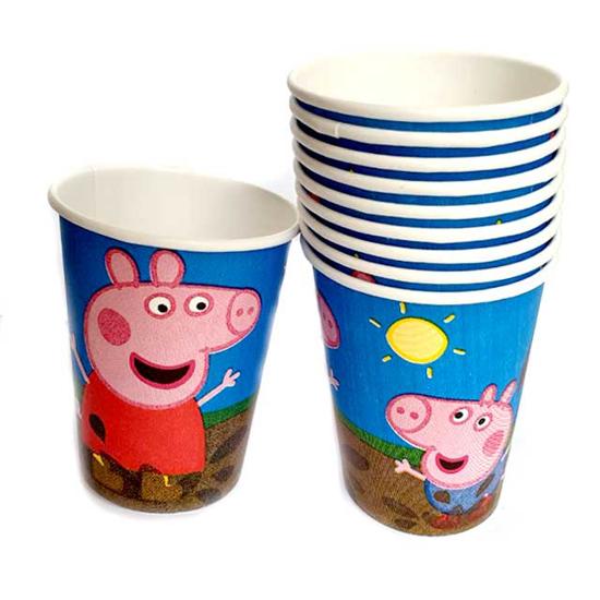 "Снимка на Парти чашки ""Пепа Пиг"" 10 броя"