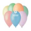 Снимка на Балони микс пастелни цветове Gemar 100 броя