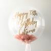balon-pera-rozovo-zlato