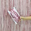 Снимка на Парти завеса ресни розови сатен 1х2 метра