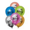 baloni-hrom-s-cheren-nadpis-happy-birthday