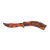 Снимка на Тренировъчен сгъваем нож пеперуда Z-13T   23см.
